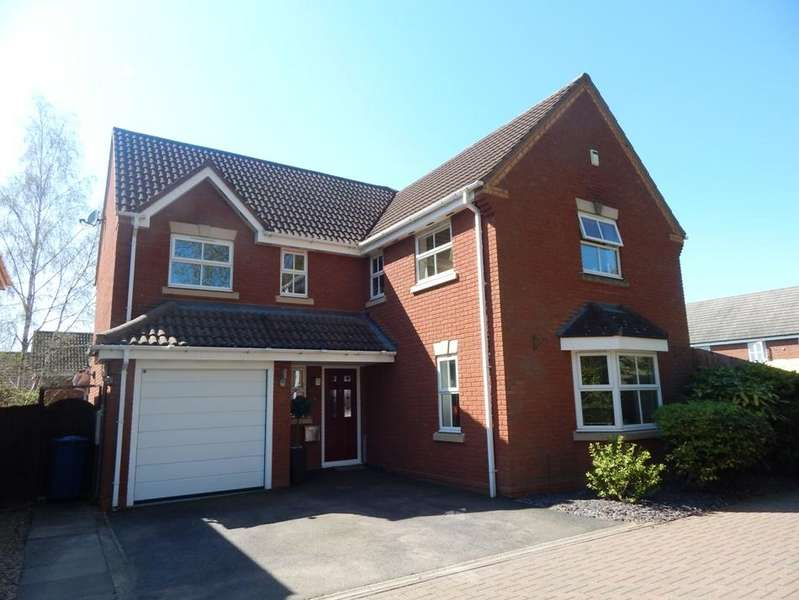 4 Bedrooms Detached House for sale in Sister Dora Avenue, Burntwood WS7