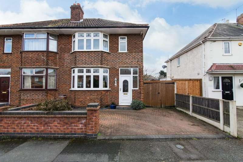 3 Bedrooms Semi Detached House for sale in Riverdale Road, Attenborough