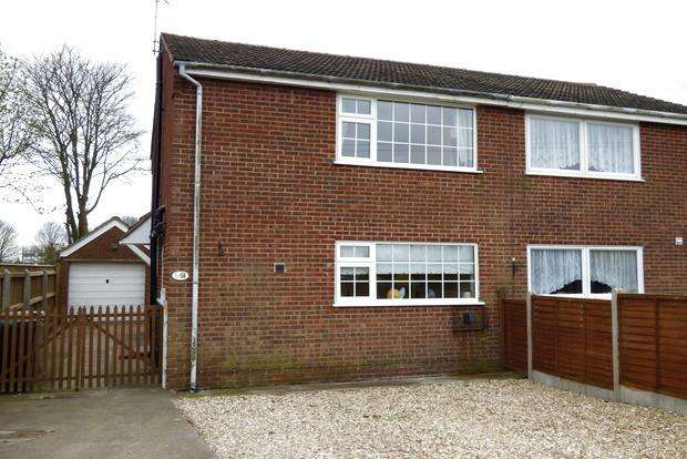 3 Bedrooms Semi Detached House for sale in Evison Way, North Somercotes, Louth, LN11