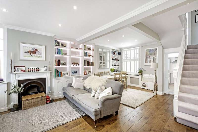 2 Bedrooms Terraced House for sale in Archway Street, Barnes, London, SW13