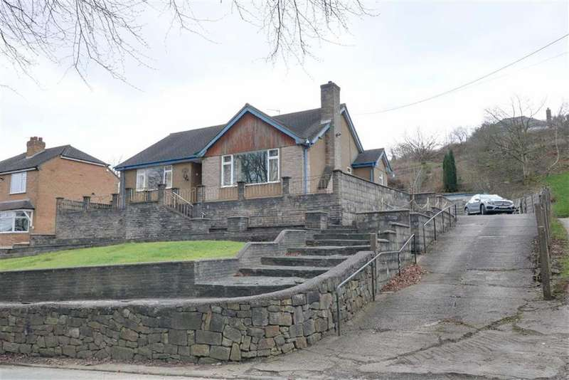 2 Bedrooms Detached Bungalow for sale in Congleton Road, Mow Cop, Stoke-on-Trent