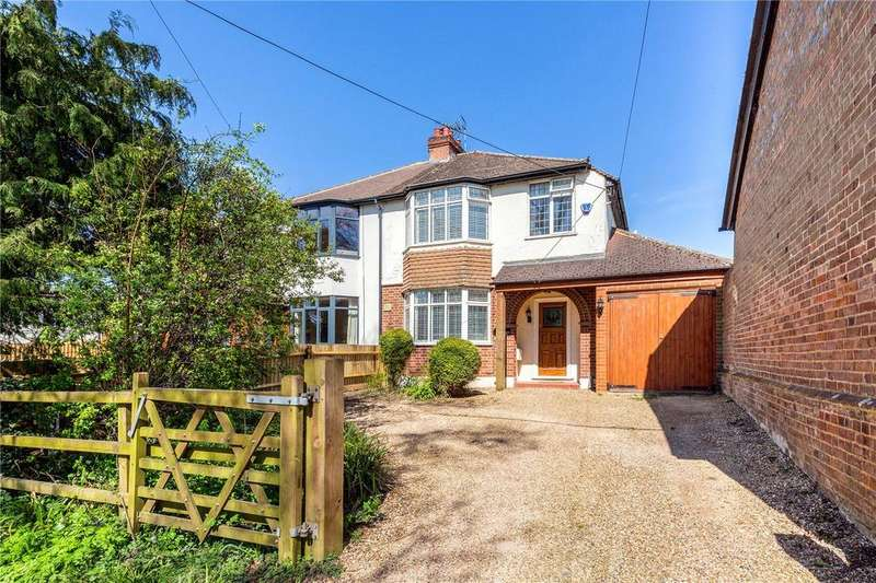 3 Bedrooms Semi Detached House for sale in Manor Farm Cottages, Buckland, Aylesbury, HP22