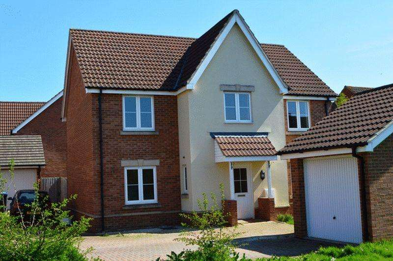 4 Bedrooms Detached House for rent in Leventon Place, Trowbridge