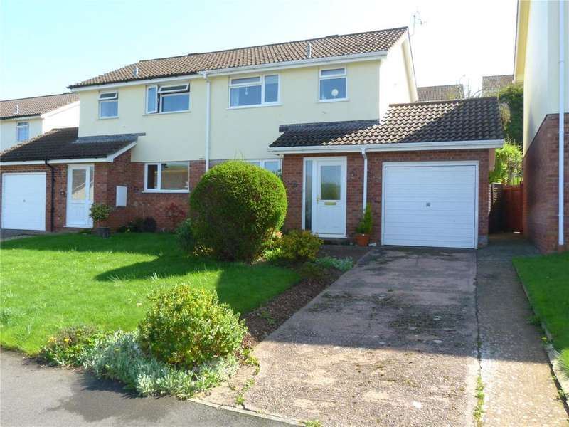 3 Bedrooms Semi Detached House for rent in Regents Way, Minehead, Somerset, TA24