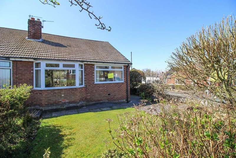 2 Bedrooms Semi Detached Bungalow for sale in Briarwood Crescent, Marple, Stockport, SK6