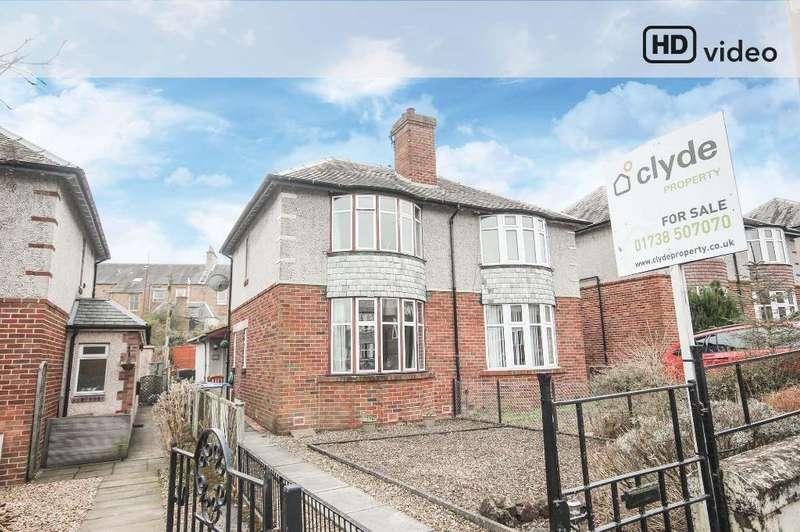 3 Bedrooms Semi-detached Villa House for sale in Cavendish Avenue, Perth, Perthshire, PH2 0JU