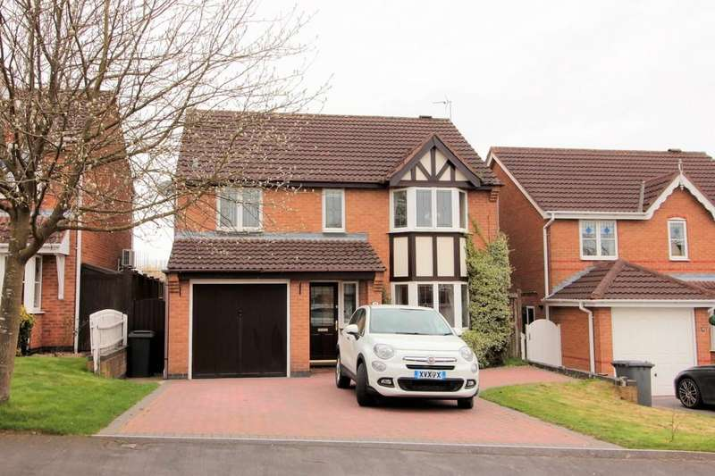 4 Bedrooms Detached House for sale in Highgate, Ashby-de-la-Zouch