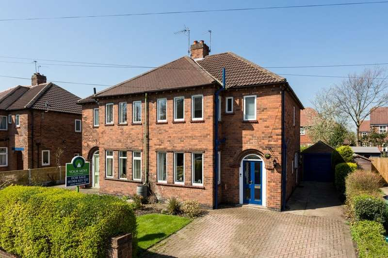 3 Bedrooms Semi Detached House for sale in Burton Stone Lane, York, YO30