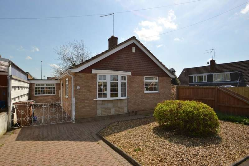 2 Bedrooms Detached Bungalow for sale in Coleraine Close, Kingsthorpe, Northampton, NN2