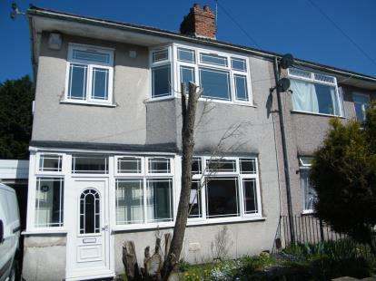 3 Bedrooms Semi Detached House for sale in Frome Valley Road, Stapleton, Bristol