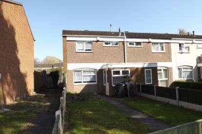 3 Bedrooms End Of Terrace House for sale in Bushman Way, Shard End, Birmingham, West Midlands