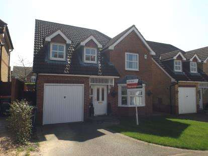 4 Bedrooms Detached House for sale in Meadowlark Close, Sutton-in-Ashfield