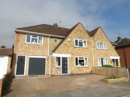 4 Bedrooms Semi Detached House for sale in Lyngate Avenue, Birstall, Leicester, Leicestershire