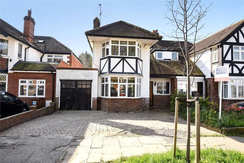 3 Bedrooms Semi Detached House for sale in Lansdowne Road, Stanmore, Middlesex, HA7