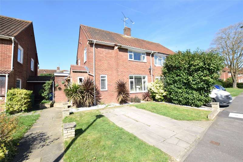 3 Bedrooms Semi Detached House for sale in Honeyhill Road, Priestwood, Bracknell, Berkshire, RG42