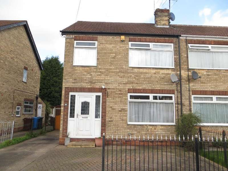 3 Bedrooms Semi Detached House for sale in Parkside Close, Hull, HU5 3EZ