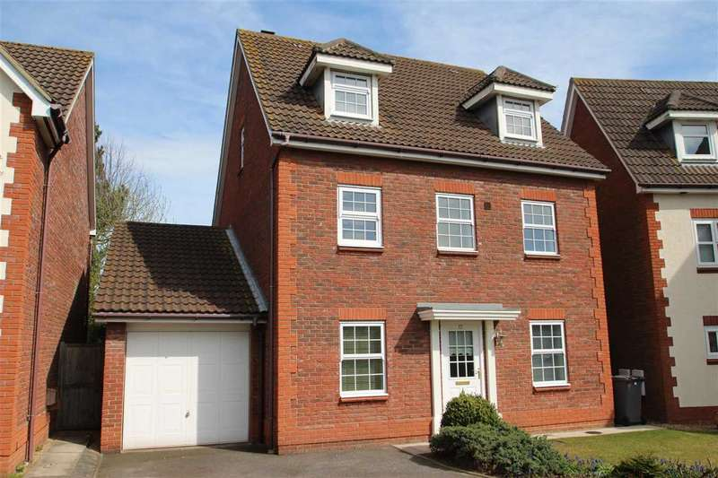 5 Bedrooms Detached House for sale in Century Drive, Grange Farm, Kesgrave, Ipswich