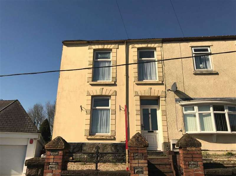3 Bedrooms End Of Terrace House for sale in Bank Road, Llangennech, Llanelli