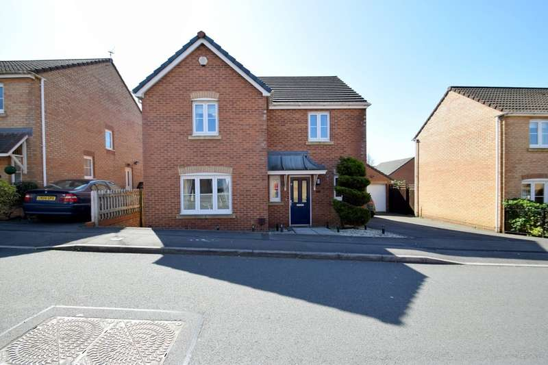 4 Bedrooms Detached House for sale in 53 Angel Way, North Cornelly, Bridgend, CF33 4PB