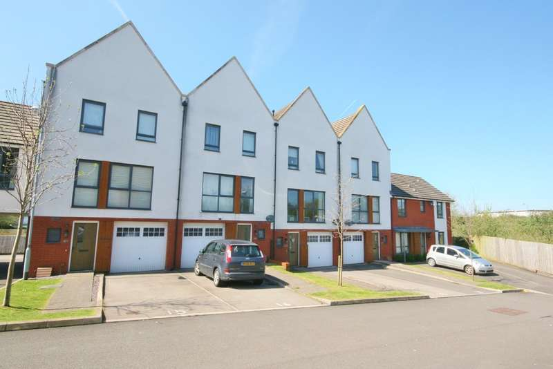 3 Bedrooms Terraced House for sale in Bartley Wilson Drive, Leckwith, Cardiff. CF11 8EN.