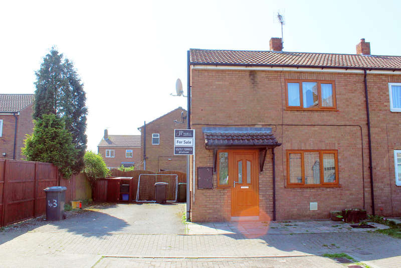 2 Bedrooms Semi Detached House for sale in Primrose Grove, Selby