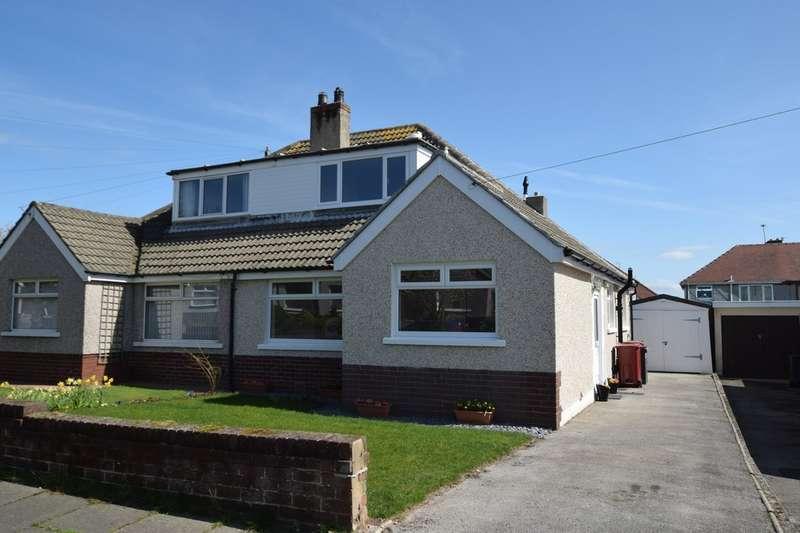 3 Bedrooms Semi Detached Bungalow for sale in Cowlarns Road, Barrow-in-Furness, Cumbria LA14 4HJ