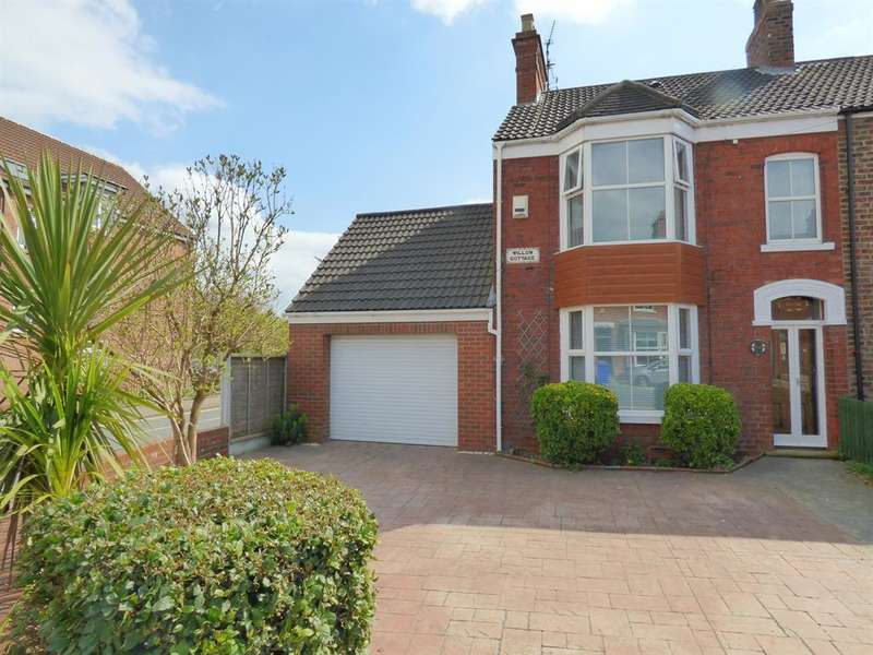 3 Bedrooms Semi Detached House for sale in Holme Church Lane, Beverley, HU17 0QB