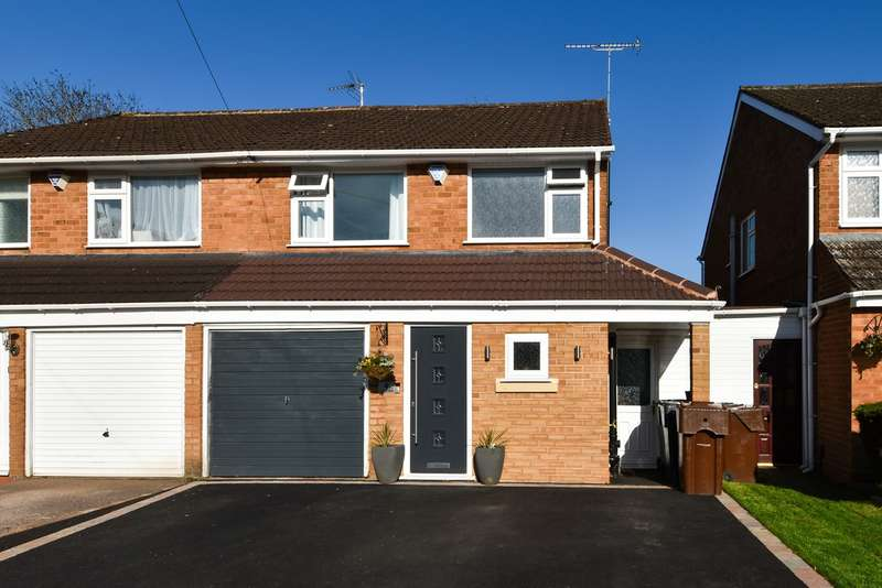 3 Bedrooms Semi Detached House for sale in Green Close, Wythall, Birmingham, B47