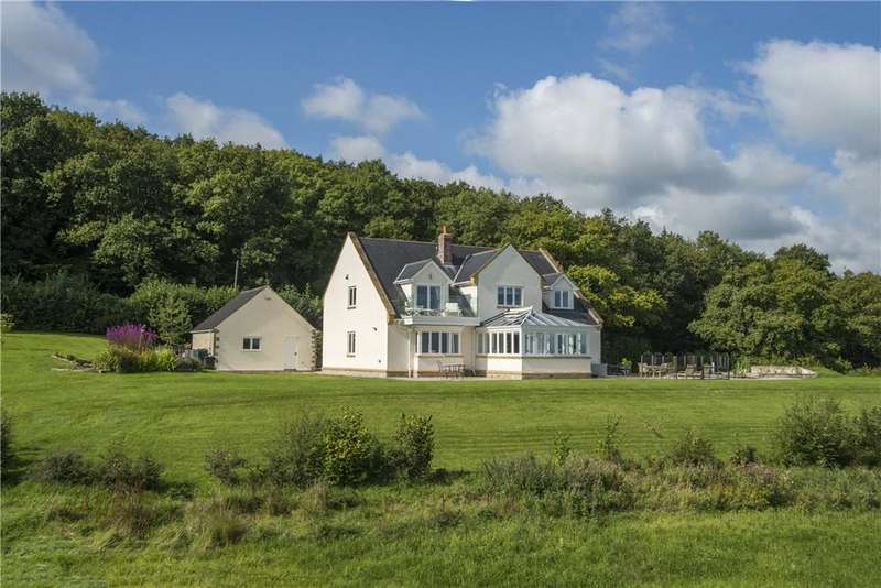 4 Bedrooms Detached House for sale in Curland, Taunton, Somerset, TA3