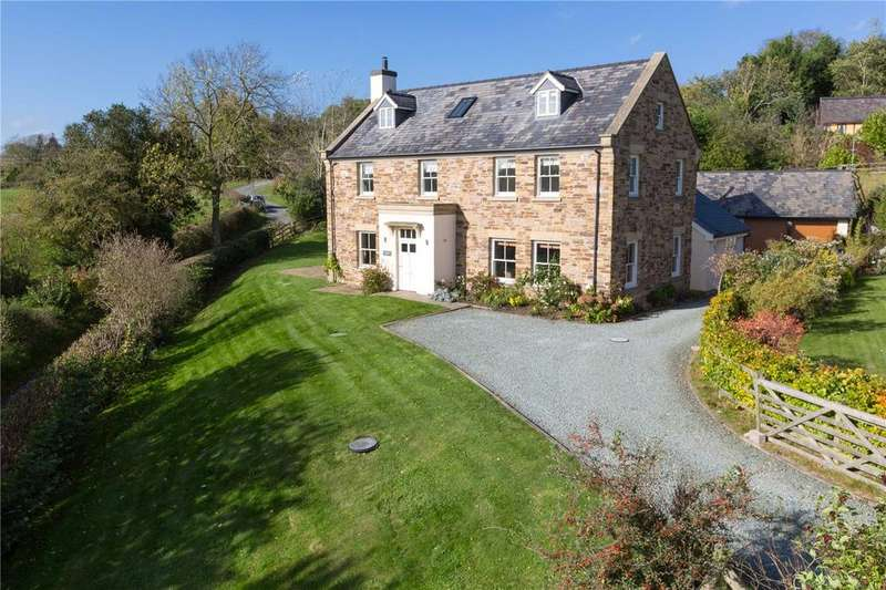 6 Bedrooms Detached House for sale in Hyssington, Montgomery, Powys