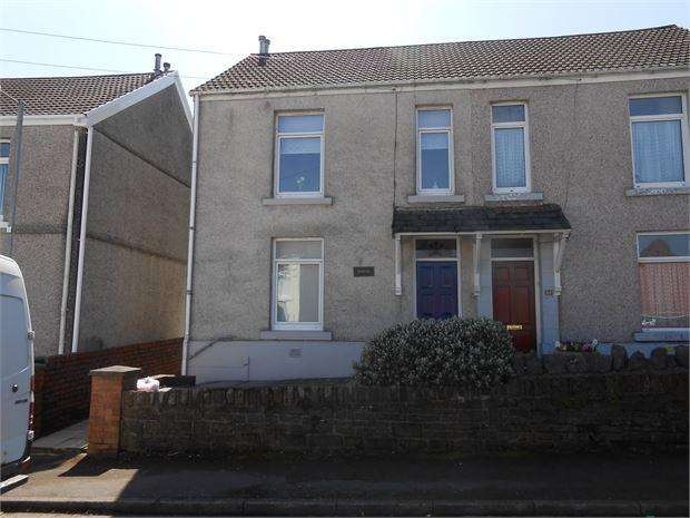 3 Bedrooms Semi Detached House for rent in Roger Street, Treboeth, Swansea, SA5 9AR
