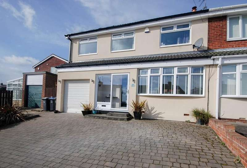 4 Bedrooms Semi Detached House for sale in Coldstream, Ouston
