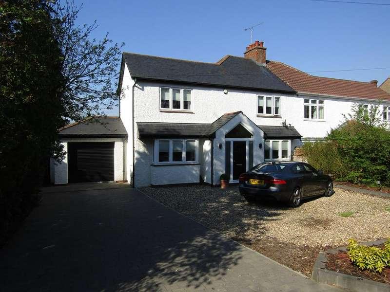 4 Bedrooms Semi Detached House for sale in Hertford Road, Bragbury End, Stevenage, SG2 8ST