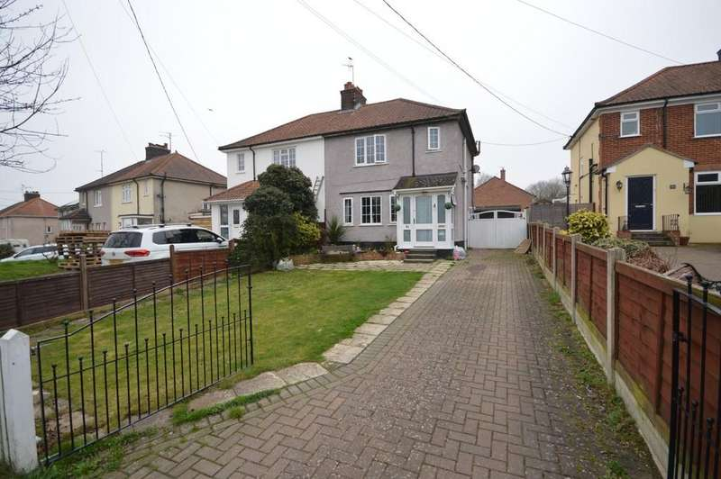 3 Bedrooms Semi Detached House for sale in Rectory Road, Rowhedge