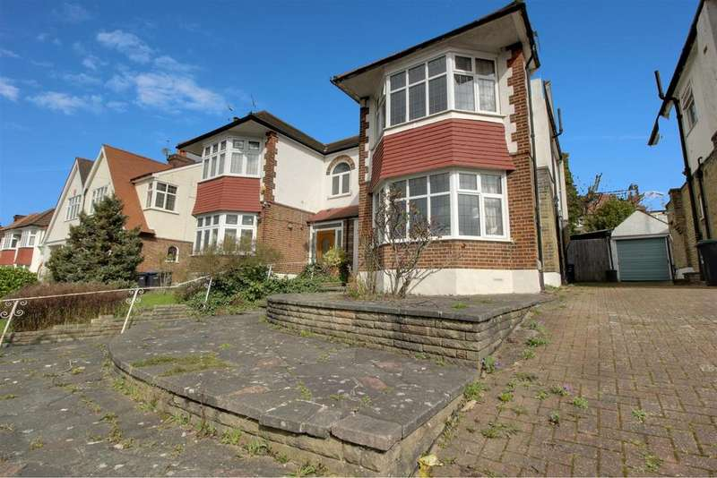 4 Bedrooms Semi Detached House for sale in Ashridge Gardens, London