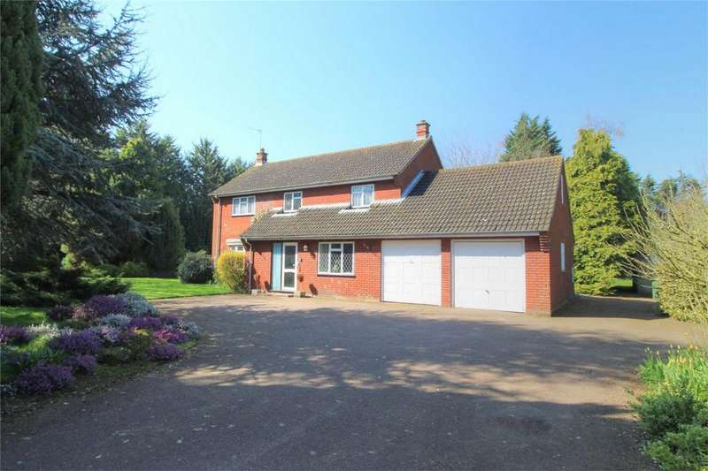 4 Bedrooms Detached House for sale in Church Road, Little Ellingham, ATTLEBOROUGH, Norfolk
