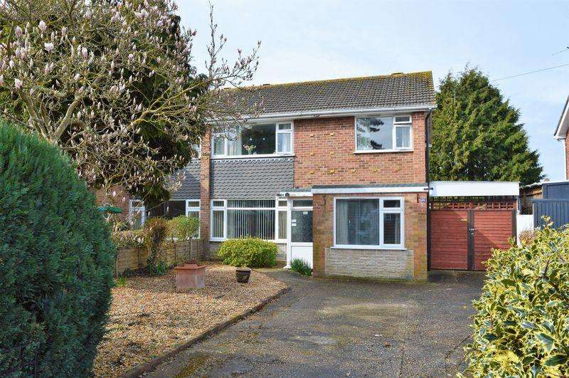 3 Bedrooms Semi Detached House for sale in Beech Grove, Hayling Island