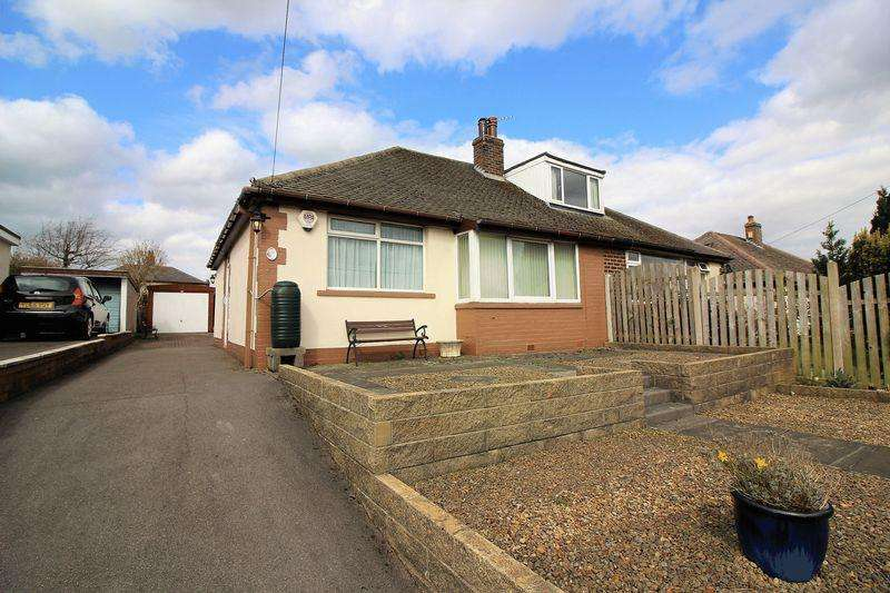 2 Bedrooms Semi Detached Bungalow for sale in Westercroft lane, Northowram