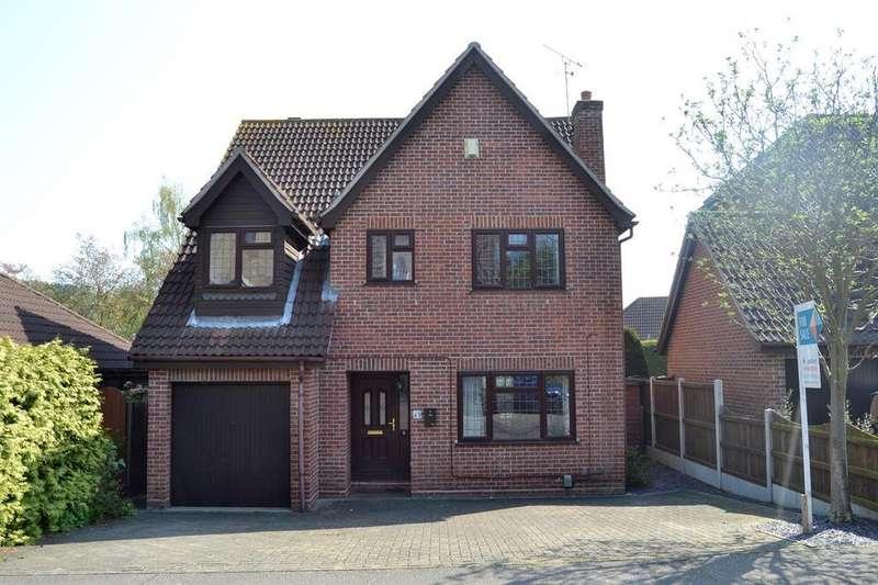 4 Bedrooms Detached House for sale in Goldcrest Close, Longridge Park, Colchester CO4 3FN