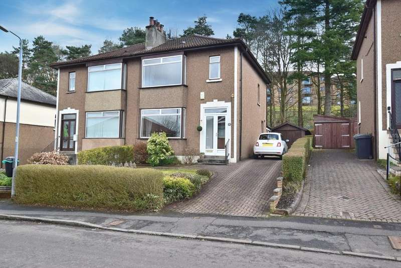 3 Bedrooms Semi Detached House for sale in 30 Stirling Avenue, Bearsden, G61 1PD