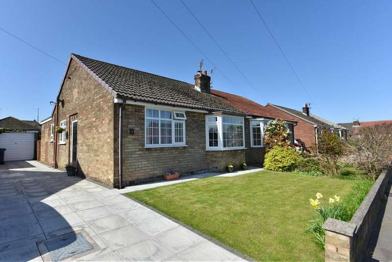 2 Bedrooms Semi Detached Bungalow for sale in Rothwell Close, Ormskirk