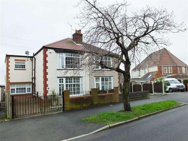 3 Bedrooms Semi Detached House for sale in Hurlfield Avenue , sheffield , S12 2TN