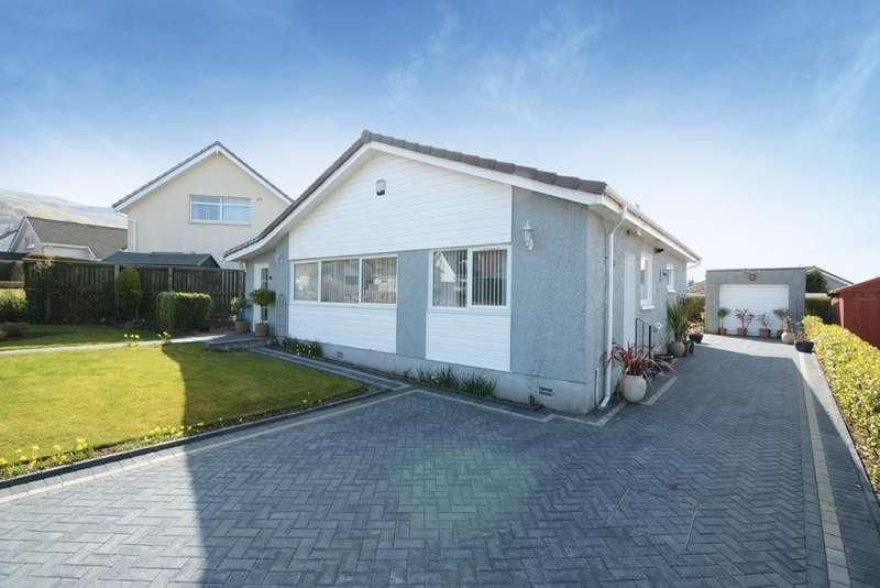 3 Bedrooms Detached Bungalow for sale in 12 Raillies Road, Largs, KA30 8QZ