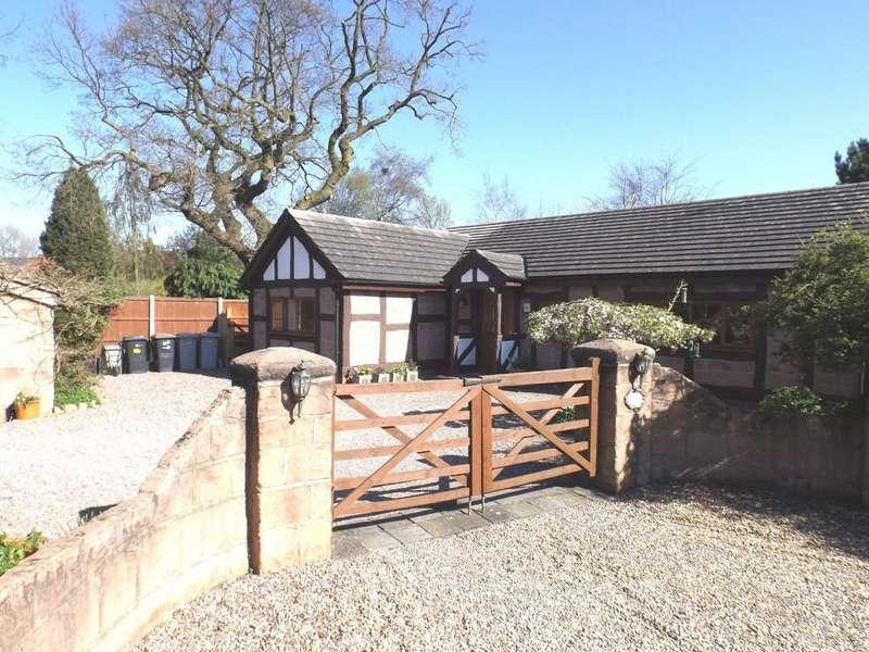 3 Bedrooms Detached Bungalow for sale in Malbank Road, Crewe