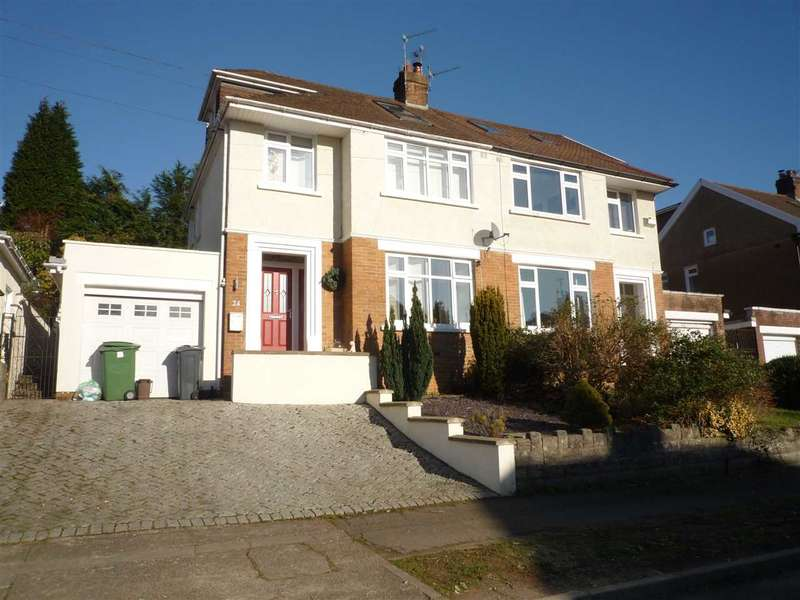 4 Bedrooms House for sale in Lon Ysgubor, Rhiwbina, Cardiff