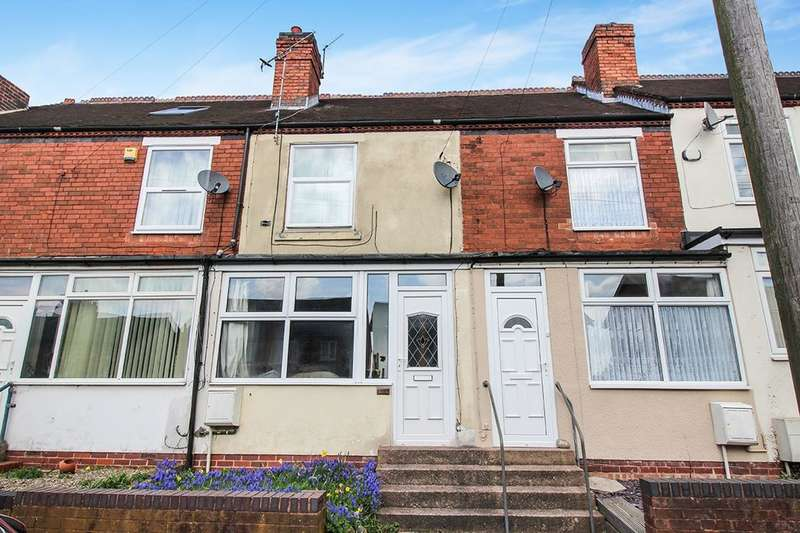 2 Bedrooms Terraced House for sale in Cemetery Road, Cannock, WS11