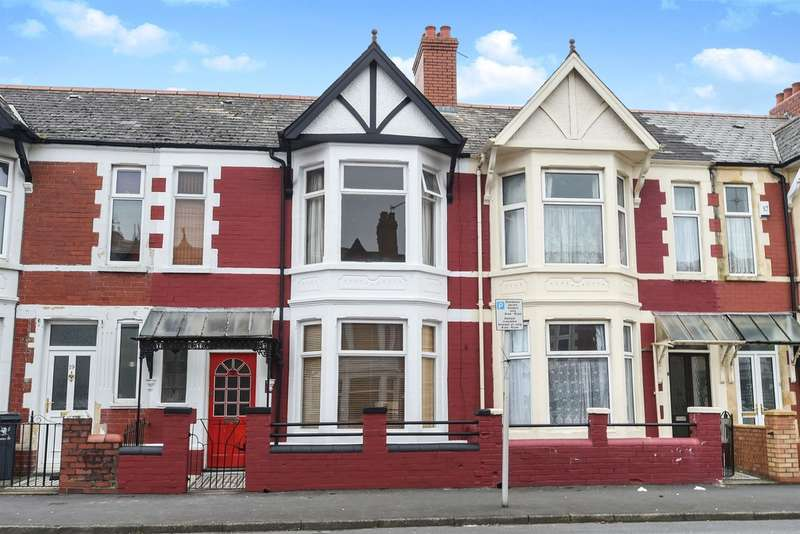 3 Bedrooms Terraced House for sale in Hafod Street, Cardiff