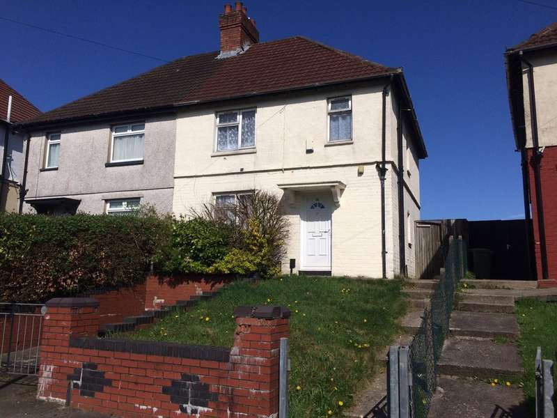 3 Bedrooms Semi Detached House for sale in Wilson Road, Ely, Cardiff