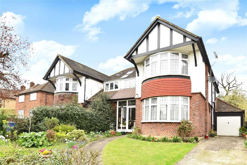 4 Bedrooms Semi Detached House for sale in Ashburnham Avenue, Harrow, Middlesex, HA1