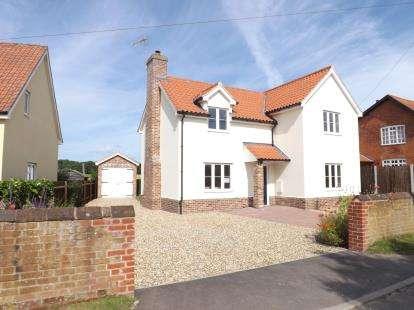 3 Bedrooms Detached House for sale in Hintlesham, Ipswich, Suffolk